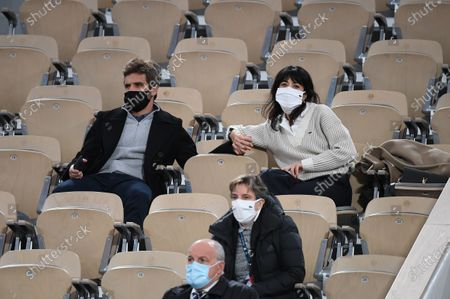 Editorial photo of French Open, Sightings, Roland Garros, Paris, France - 04 Oct 2020