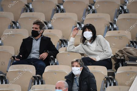 Stock Picture of Arnaud Clement and Nolwenn Leroy