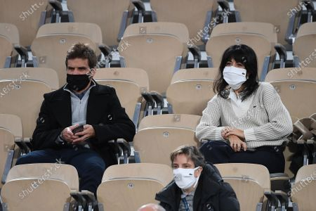 Editorial picture of French Open, Sightings, Roland Garros, Paris, France - 04 Oct 2020