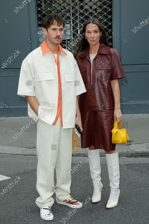 Stock Picture of Jean Sebastien Roques and Alice Barbier