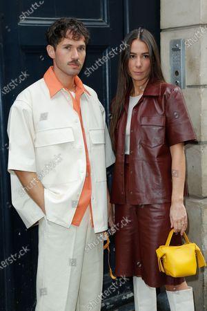 Editorial photo of Gabriela Hearst show, Arrivals, Spring Summer 2021, Paris Fashion Week. - 04 Oct 2020