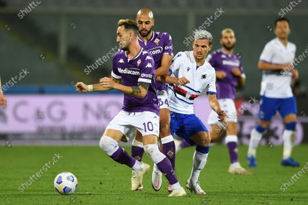 Editorial picture of Soccer : Serie A 2020-21 : Fiorentina 1-2 Sampdoria, Florence, Italy - 02 Oct 2020