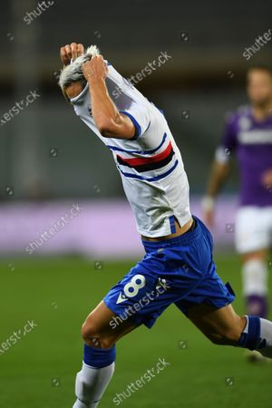 Editorial photo of Soccer : Serie A 2020-21 : Fiorentina 1-2 Sampdoria, Florence, Italy - 02 Oct 2020