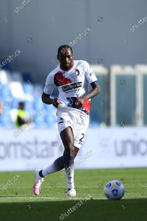 "Simy Simeon Tochukwu Nwankwo (Crotone)          during the Italian  Serie A"" match between Sassuolo 4-1 Crotone  at  Mapei Stadium   on October 02 , 2020 in Reggio Emilia, Italy."