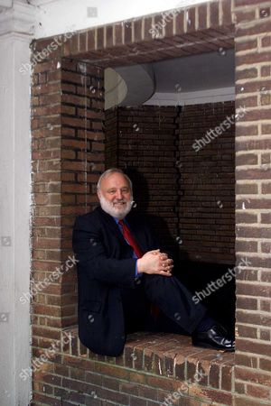 Labour Mp Frank Dobson At Corams Fields In His Camden Constituancy