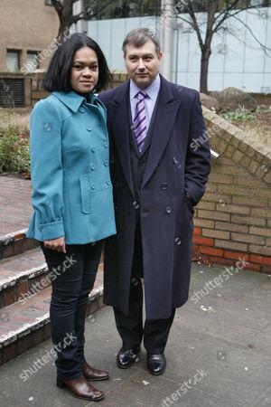 Otolose Loloahi Tapui-Zivancevic with her husband, Alexander Zivancevic