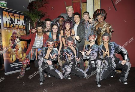 Kevin Kennedy, Brenda Edwards, Jonathan Wilkes, Michael Falzon and cast members