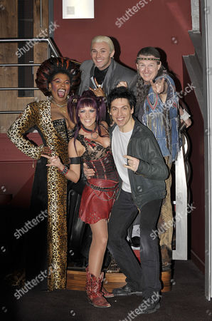 Stock Photo of Brenda Edwards, Jonathan Wilkes, Kevin Kennedy and Michael Falzon