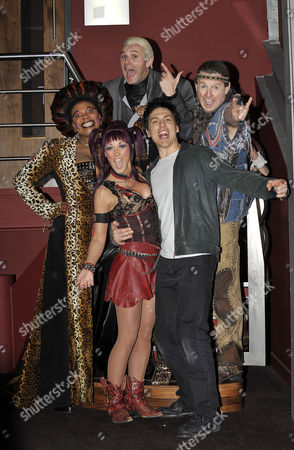 Editorial image of 'We Will Rock You' musical photocall at The O2, Dublin, Ireland - 19 Jan 2010