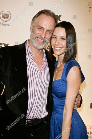 Keith Carradine and wife Hayley DuMond