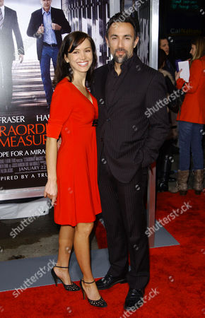Francesco Quinn and wife Julie
