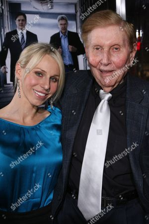 Stock Picture of Malia Andelin and Sumner Redstone