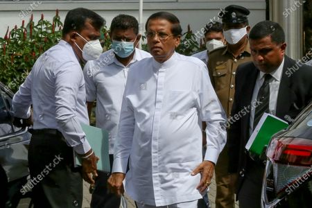 Editorial image of Presidential Commission of Inquiry into the Easter Sunday bombing in Sri Lanka, Colombo - 05 Oct 2020