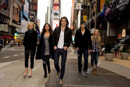 Editorial photo of 'If I Can Dream' Photo Shoot in Times Square, New York, America - 19 Jan 2010