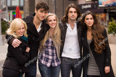 Editorial image of 'If I Can Dream' Photo Shoot in Times Square, New York, America - 19 Jan 2010