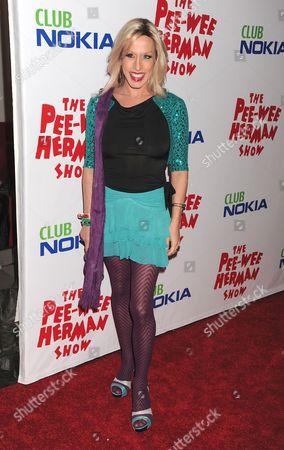 Editorial image of 'Pee Wee Herman Show' opening night, Los Angeles, America - 20 Jan 2010