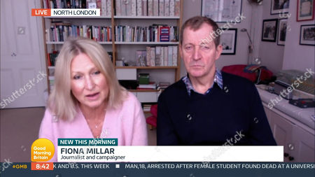 Stock Photo of Fiona Miller, Alastair Campbell
