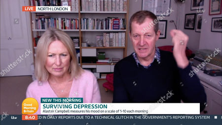 Stock Picture of Fiona Miller, Alastair Campbell