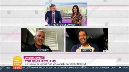 Piers Morgan, Susanna Reid, Paddy McGuinness, Chris Harris