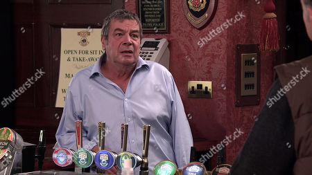 Coronation Street - Ep 10149 Friday 23rd October 2020 - 1st Ep Scott talks Johnny Connor, as played by Richard Hawley, through his plan to rob Ray and his mates. Johnny's sick with worry.
