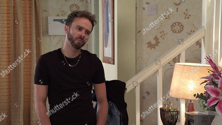 Coronation Street - Ep 10148 Wednesday 21st October 2020 - 2nd Ep Shona Platt assures David Platt, as played by Jack P Shepherd, she's not bothered if he sells the house so long as she's with him.