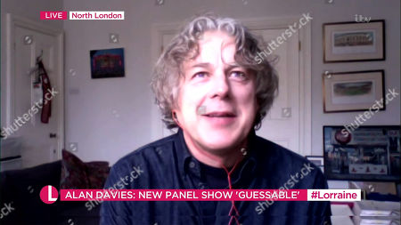 Stock Picture of Alan Davies
