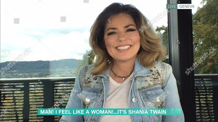 Phillip Schofield, Holly Willoughby, Shania Twain