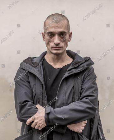 Editorial photo of Piotr Pavlenski photoshoot, Paris, France - 01 Oct 2020