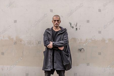 Editorial picture of Piotr Pavlenski photoshoot, Paris, France - 01 Oct 2020