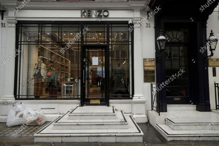 Branch of the clothing store Kenzo, founded by the iconic French-Japanese fashion designer Kenzo Takada, in London, . Takada's family said in a statement to French media Sunday that Takada died from complications from COVID-19 in a hospital in Neuilly-sur-Seine, near Paris. He was 81