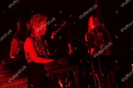 Editorial picture of Agnes Obel in concert at Stodola, Warsaw, Poland - 12 Nov 2016