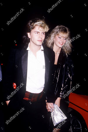 Stock Image of John Taylor and Janine Andrews
