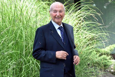Italian journalist and conductor Piero Angela