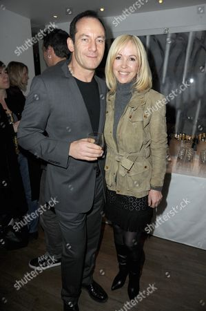Stock Photo of Sally Green and Jason Isaacs