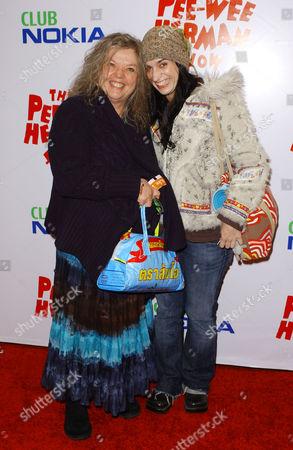 Gail Zappa and daughter Diva Zappa