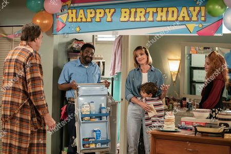 Kevin Nealon as Harry, Ron Funches, Erinn Hayes, Jason David as Will and Sadie Stanley as Jules