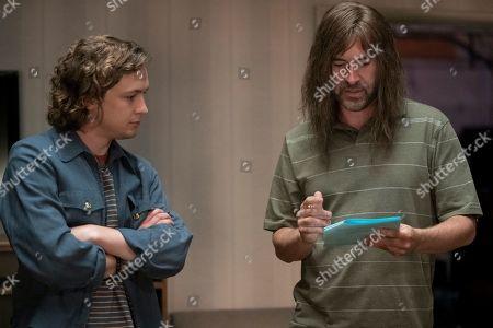 Stock Picture of Logan Miller as Logan and Mark Duplass as Graham Husker