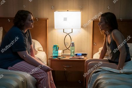 Stock Picture of Shannon Purser as Megan and Kendra Carelli as Casey