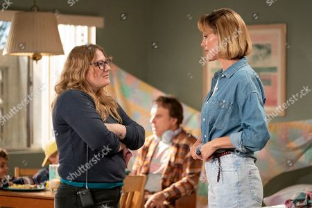 Stock Picture of Mel Eslyn Director, Kevin Nealon as Harry and Erinn Hayes