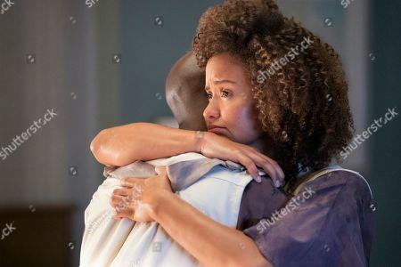 Stock Image of Ntare Guma Mbaho Mwine as Keir and Kristina Hanna