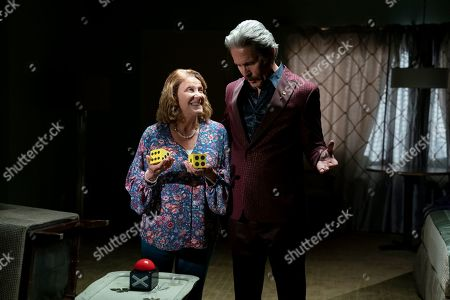 Linda Lavin as Enid and Gary Cole as Chip Crawford