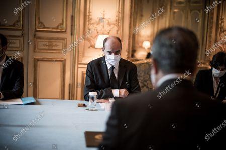 Jean Castex at Hotel de Matignon