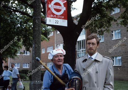 Tenniel Evans and Nicholas Lyndhurst
