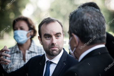 Editorial image of President of French Polynesia Edouard Fritch visit to Paris, France - 03 Oct 2020