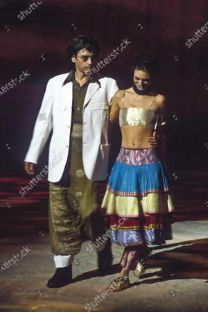 Stock Image of Kenzo Women ready to wear 2000 summer Jean-Michel Jarre