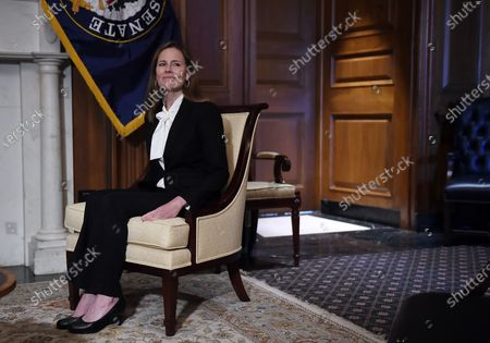 Editorial photo of Amy Coney Barrett Capitol Hill Courtesy Calls, Washington, District of Columbia, USA - 01 Oct 2020