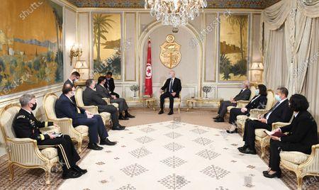 Editorial picture of US Defence Secretary Mark Esper visit to Tunis, Tunisia - 30 Sep 2020