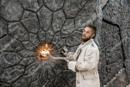 Stock Photo of Travis Fimmel as Marcus