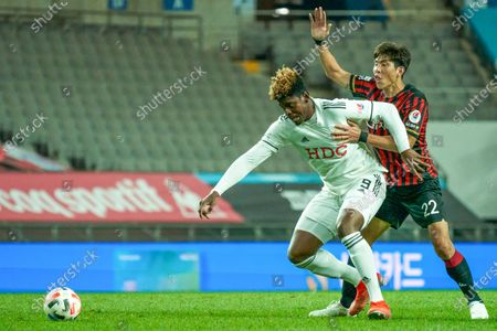 Editorial picture of Busan I Park FC v FC Seoul, 2020K League 1, football, Seoul, South Korea - 05 Oct 2020