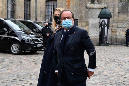 Francois Hollande and Julie Gayet